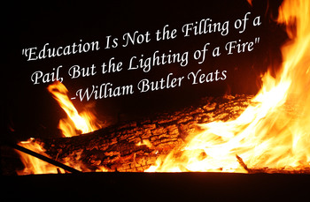 Poster- William Butler Yeats QUOTE