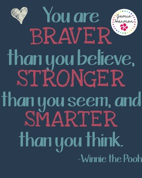 Poster: Winnie the Pooh Quote
