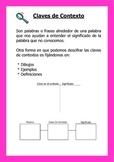 Poster de Claves de Contexto (Context Clues anchor chart/poster)