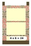 Poster for Grade 3 Math - Factors, Number Bonds, and Multiplication Sentences
