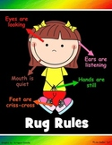 Poster for Rug Rules *Updated*