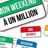 Poster jeu : mon week-end à un million