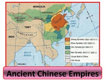 China Map Poster.Poster Map Of Chinese Empires By Chuck Behm Teachers Pay Teachers