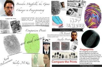 Fingerprint in Forensic Science - Mayfield McKie et al - FREE POSTER