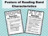 Reading Band Characteristics - B/W