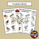 Poster to teach French/FFL/FSL: Mes outils/tools