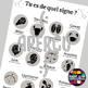 Posters to teach French/FFL/FSL: Tu es de quel signe ?/Zodiac signs