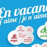 Poster vocabulaire : en vacances