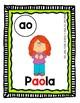 Pósteres/Carteles Combinaciones Vocálicas (Freebie)