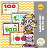 """Posters """"100 Day's of School"""""""