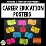 Career Education Posters for Career Exploration Classes