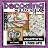 Guided Reading Decoding Strategies Posters and More - Chevron