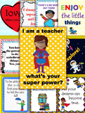 Posters Motivational posters for your classroom