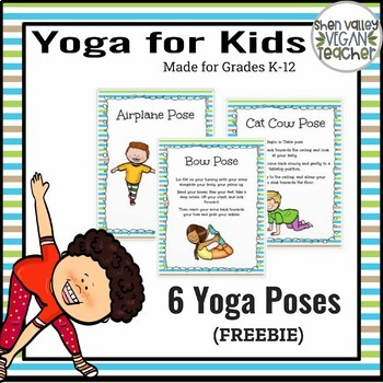 Yoga for Kids - Posters - FREEBIE