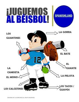 Posters / Beisbol  (Spanish classroom)