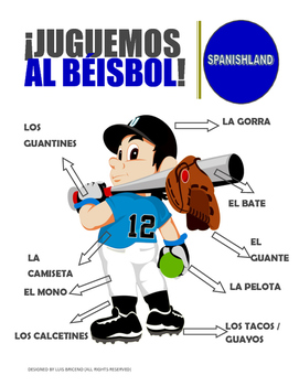 Posters / Beisbol  (Spanish classroom)
