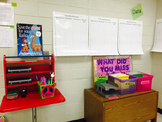 Posters- Classroom Data Wall using Benchmarks