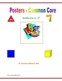 Math & Literacy PreK, Kindergarten - Numbers,  Letters, Shapes