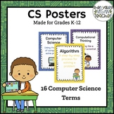 CS Posters - Computer Science Vocabulary