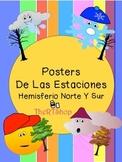 Spanish Seasons' Posters: Las Estaciones