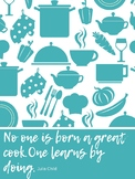 Posters: Eight food quotes