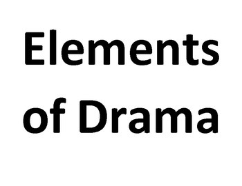 Posters Elements of Drama and Music