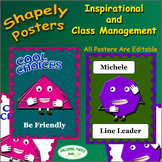 Posters Featuring Character Education and Classroom Management