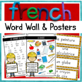 Posters / Fiches Français / Mur de mots