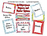 Posters, Frames, Stationery, Binders & Spines Bundle – Seu