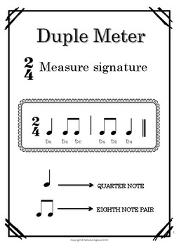 Posters: Meter and Measure Signature, Back to School Edition