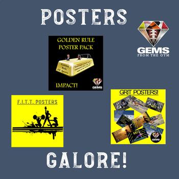 Posters Galore Bundle!