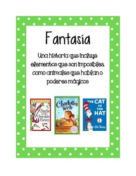 Posters Géneros Literarios / Genre Posters (Spanish)