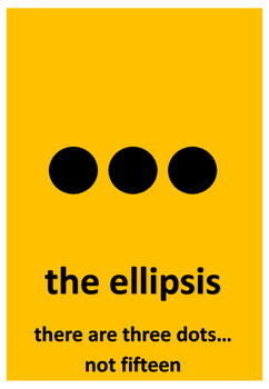 Posters: Grammar and Punctuation