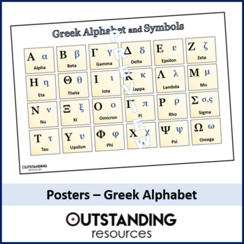 This is a picture of Intrepid Greek Alphabet Printable
