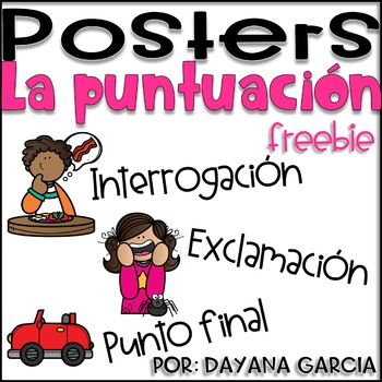 Posters- La puntuación
