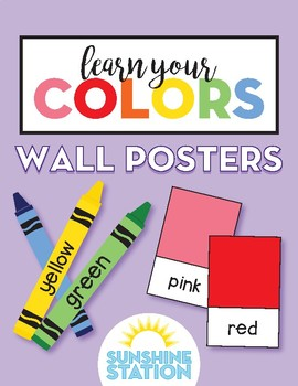 Posters - Learn Your Colors