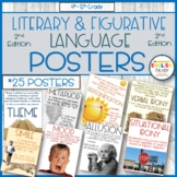 Literary Terms Posters, Figurative Language Posters, Classroom Decor-2ND EDITION