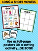 Long and Short Vowels: Posters and Sorting Activity