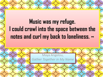 Posters Love Of Music Famous Quotes In Color By Herstoria Tpt