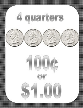 Posters: Making a Dollar with Quarters
