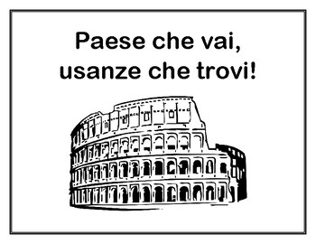 Posters: Modi di Dire 2: MORE Idioms for Students of Italian