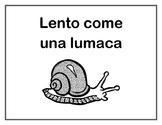 Posters: Modi di Dire: La frase della Settimana - Idioms for Students of Italian