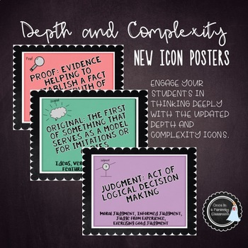 Posters - New Icons of Depth and Complexity GATE