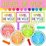 Posters Nivel de Voz - Colour me Confetti