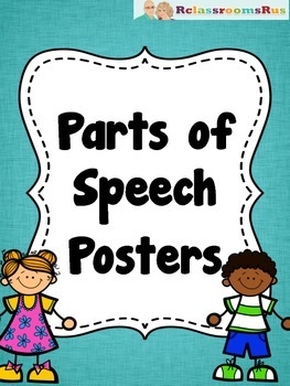 Posters: Parts of Speech