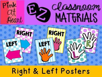 Right and Left Posters