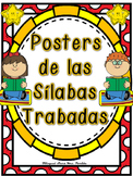 Silabas Trabadas Posters Grupos Consonanticos Bilingual Stars Mrs. Partida