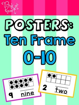 Posters: Ten Frame 0-10