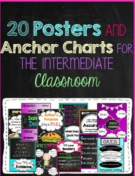 Posters and Anchor Charts