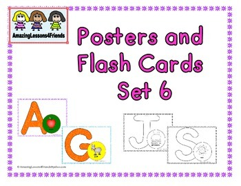 Posters and Flash Cads Set 6